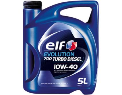 ELF Evolution 700 Turbo Diesel 10W-40 1л.