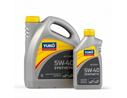 Yuko SYNTHETIC 5W-40 1л