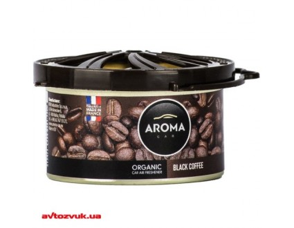 Ароматизатор Aroma Car Organic Black Coffee  40г