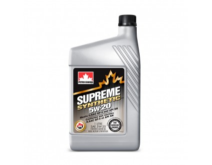 PETRO-CANADA SUPREME SYNTHETIC 5W-20 1l